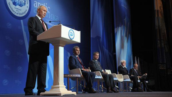 В своем выступлении и в заключительном слове Президент РФ Владимир Путин подчеркнул, что Россия намерена существенно расширить особо охраняемые природные зоны в Арктике, «как минимум в разы»